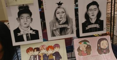 K-pop artwork